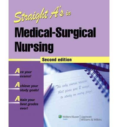 Straight A's in Medical-surgical Nursing (Straight A's) (Paperback) - Common ebook