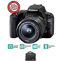 Canon EOS 200D 18-55 Kit DSLR Fotoğraf Makinesi