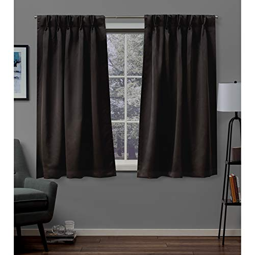 Exclusive Home Curtains Sateen PP Panel Pair, 63