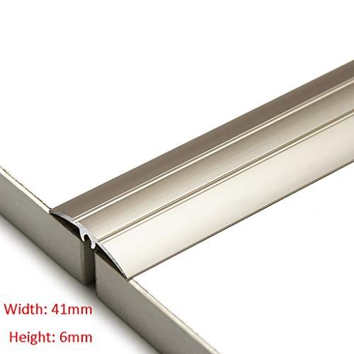 GWXFHT Threshold Strip Seam Edge Strip Thicken Wooden floor Decorative strip Threshold strip Door buckle strip Blanking…