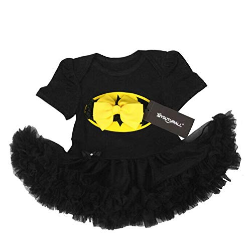 Baby Party Dress Infant Baby Cool Costume Newborn Girls Party Dress Cosplay (XL: 12-18 months) -