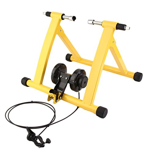 ALTERDJ Folding bicycle bike trainer exercise stand Magnet Steel Cycling Mountain Biking Indoor Training Station Road Bicycle Parking Station trainer Racks
