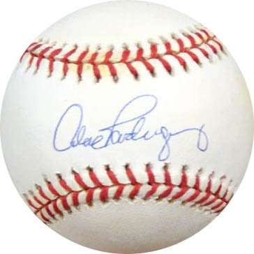 Alex Rodriguez Signed PSA/DNA Baseball-Official