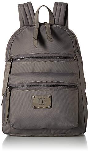 FRYE Ivy Nylon Backpack, matte grey from FRYE