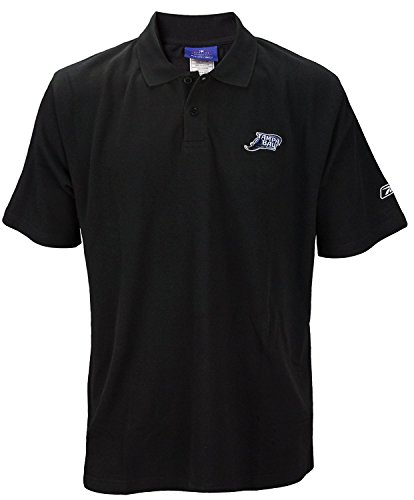 (Reebok Tampa Bay Devil Rays MLB Mens Polo Shirt, Black (Medium))