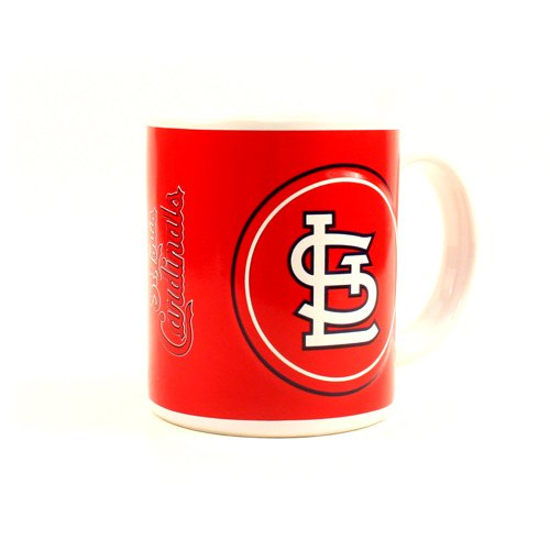 MLB Licensed St. Louis Cardinals 11oz Sculpted Coffee Mug Cup