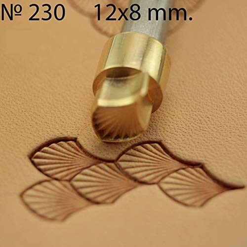 - Leather Stamp Tool Dragon Scale Stamping Working Carving Punches Tools Craft Saddle Brass #230