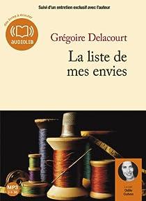 La liste de mes envies par Delacourt