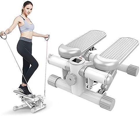 YDDHQ Step para Fitness, Ajustable Stepper Máquina Step Bandas ...