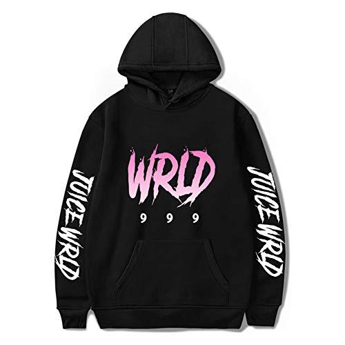 Juice Wrld-hoodie voor heren 999 Hiphop-sweatshirt met lange mouwen voor dames