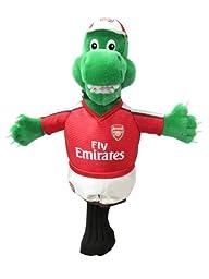 Official Arsenal FC Gunnersaurus Rex Mascot Golf Headcover