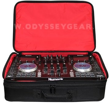 Digital Dj Controller (Odyssey Cases BRLDIGITALXLE   Red Series Digital XLE DJ Controller Gear)