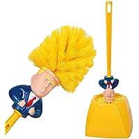 Toilet Brush Donald Trump Toilet Brush and Base - Toilet Scrubber Plastic Bathroom Supply - Novelty Funny Men/Women…