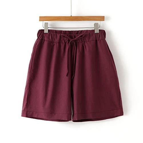 Bsjmlxg Men Summer Short Sports Hommes Pants Shorts Skate Board Fashion Casual Elastic Waist Workout Shorts Purple