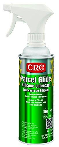 CRC Parcel Glide Silicone Lubricant, 15 fl oz Non-Aerosol Spray Can, White by CRC