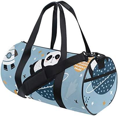 ボストンバッグ 眠っている パンダ ジムバッグ ガーメントバッグ メンズ 大容量 防水 バッグ ビジネス コンパクト スーツバッグ ダッフルバッグ 出張 旅行 キャリーオンバッグ 2WAY 男女兼用
