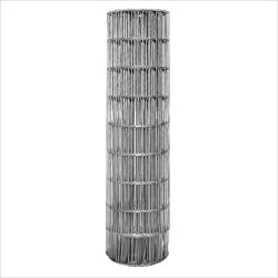 2 Inch x 4 Inch Mesh 14 Gauge Galvanized Welded Wire Fence, 36 Inch Tall x 50 Feet Long
