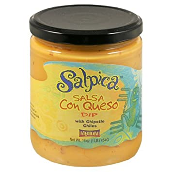 Salsa Con Queso Dip Medium (Pack of 6) - Pack Of 6