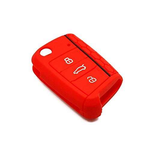 22 opinioni per Cover silicone chiave auto- Volkswagen/Seat/Skoda (Rosso)