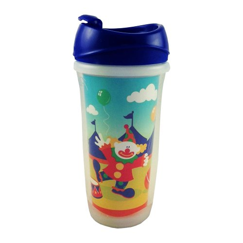 9 Ounce Circus Cups (Playtex PlayTime 9-Ounce Insulated Spoutless Cup (Circus))