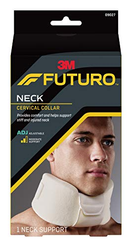- Futuro Soft Cervical Collar, Moderate Support, Adjust to Fit, White
