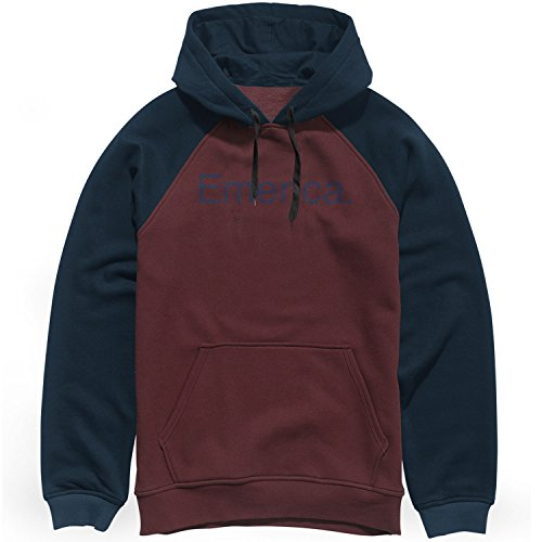 Po Adulto Con Emerica Felpe Sweat Hooded Unisex Purity Oxblood Cappuccio wSC8Z