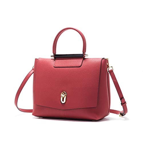 W 11 8 Gran Bolsos Mujeres 11 l Red 5 02 Para Moda Capacidad Pulgadas Shopping Party Crossbody H 66 Travel wwSTzqECg