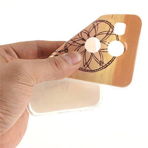 De Souple Arrière LG TPU Peint Protection Cas Motif Nexus Slim 5X Campanula Couverture Résistant Fit Cas Bord Scratch Silicone En Transparent Antichoc Téléphone Hozor De qdwR0PR