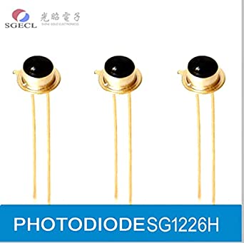 PHOTODIODE, Silicon PIN Photodiodes, 920nm, 870-1100nm, 2-Pin, Photoelectric Detector: Amazon.com: Industrial & Scientific