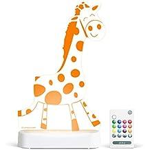 Aloka Giraffe Starlight Multi-Colored LED Light with Remote Control, Multi-Color Changing, 8 inch
