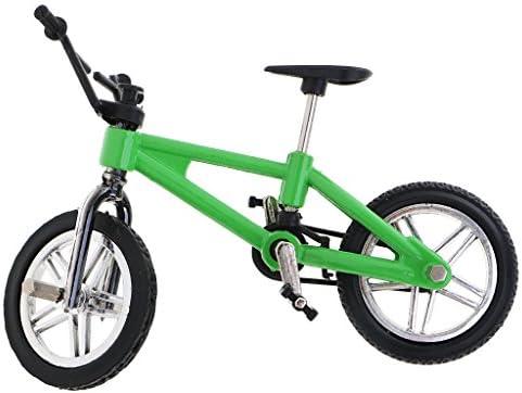 MagiDeal Bici de Dedo Ruedecilla Juguete de Bicicletas - Verde ...