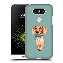 Official Barruf Dachshund, The Wiener Dogs Hard Back Case for LG G4 Stylus