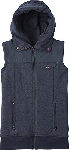 Burton Pullover Starr Vest - Punto deportivo para mujer, color azul, talla XS