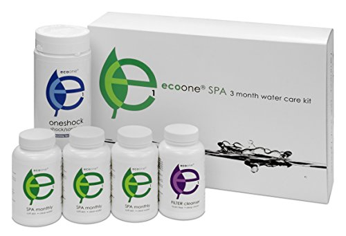 Hot Tub Chemicals & Supplies for Water Purification, Spa Cleaner, 3-Month Supply - Eco One -