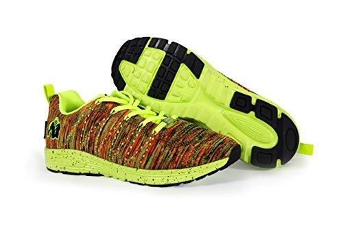 Fitness pour Fluo Gorilla Musculation Baskets Hommes Femmes de Tricoté Mélange et Brooklyn Wear et Chaussures wIvqIPH