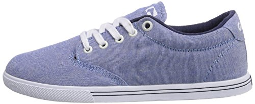 blau blue Chambray Globe 13200 white Lighthouse Blu slim Da Adulto Sneakers Unisex z7zOFq1w