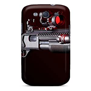 Snap-on Case Designed For Galaxy S3- Mesa Tactical Remington 870