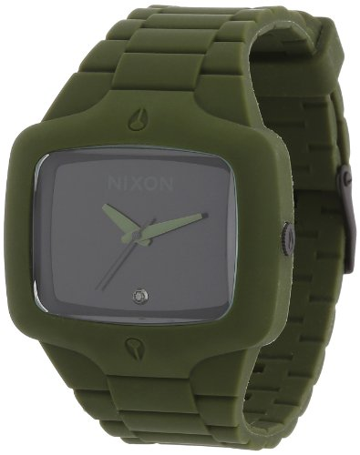 ubber and Polyurethane Casual Watch, Color:Green (Model: A139-042) ()