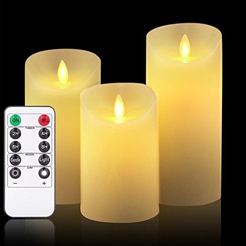 Flameless Candles, LED Candles Set 4