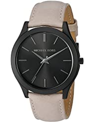 Michael Kors Mens Slim Runway Black Watch MK8510