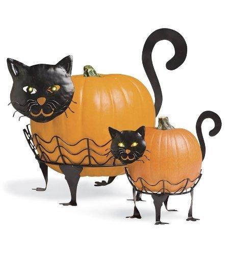 Plow & Hearth 87678-CAT Halloween Decoration, 14