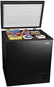 5 cu ft Chest Freezer for Your House, Garage, Basement, Apartment, Kitchen, Cabin, Lake House, Timeshare, or B