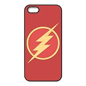 Protective TPU cover case the flash iPhone 5 5s Cell Phone Case Black