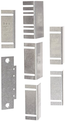 HES Stainless Steel Template Kit for Electric Strikes by HES