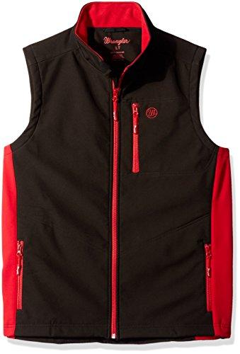 Charcoal XLT Wrangler Mens Water Repellent Trail Vest-Big and Tall