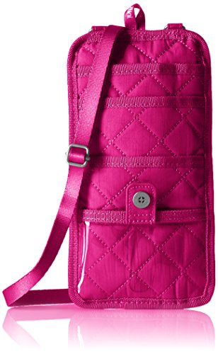 Baggallini Rfid Travel Organizer, Fuchsia/Pink