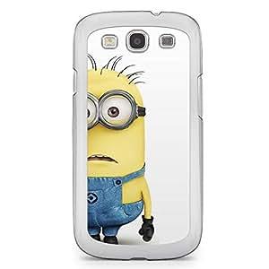 Minion Samsung Galaxy S3 Transparent Edge Case - Bob Standing