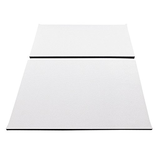 Design Engineering 050145 Boom Mat Sound Deadening Headliner for Jeep Wrangler with Factory Sound Bar (1997-2002) and TJ without Roll Bar Speakers (1997-2006) - White
