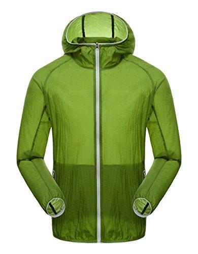 homaok-mens-womens-super-lightweight-quick-dry-summer-trench-coat-medium-olive-green