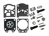 Poulan Craftsman Chainsaw Replacement Carburetor Repair Kit Walbro WT324 # 530069826